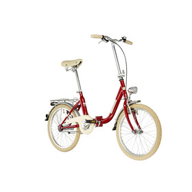 Ortler Fast Rocket Folding Bike 20 red